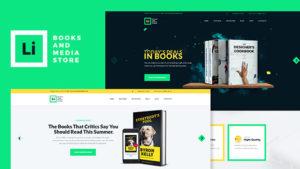 Lorem Ipsum | Boeken en Media Store WordPress Theme
