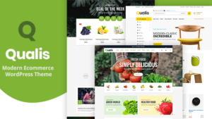 Qualis – Responsible eCommerce WordPress-thema voor biologisch voedsel
